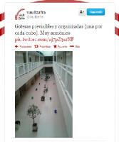 #MiniEntrada Goteras en la Escuela Politécnica de Cáceres