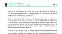 Ya tenemos regulada la figura del Agente Rehabilitador en Extremadura