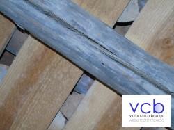 Las aberturas en las vigas de madera (fendas de secado)